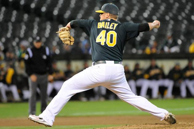 Andrew Bailey: Best Moments of the New Boston Red Sox Closer's Career