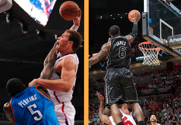 Dunk of the Year: LeBron James over Lucas or Blake Griffin over Perkins?