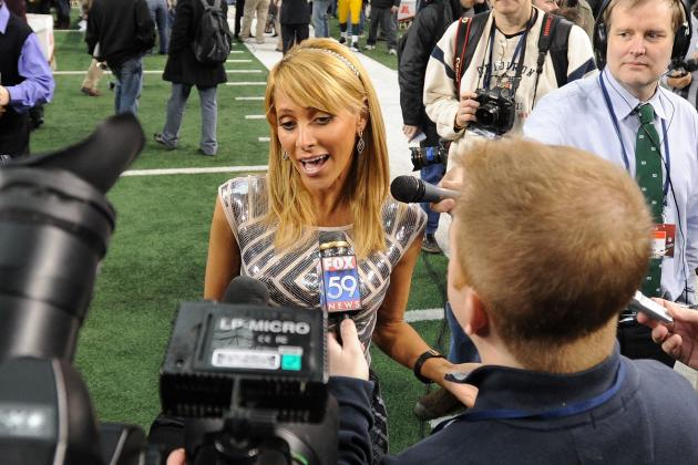 Super Bowl 2012: The Loveliest Ladies of Media Day