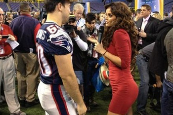 Marisol Gonzalez: See the Red Dress Hottie That's the Talk of Super Bowl Media Day