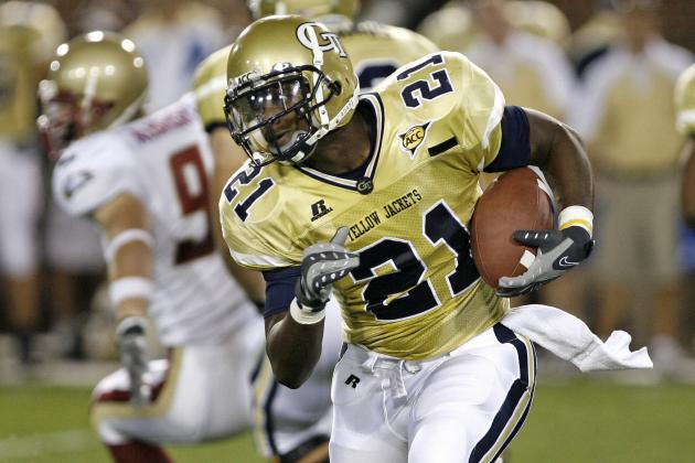 Georgia Tech Football: Top 5 Running Backs in School History