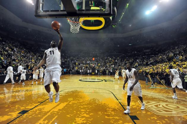Oregon and College Basketball's 13 Most Unique Gym Floors