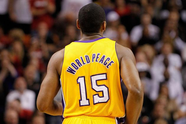 Metta World Peace: 5 Names That Better Describe the Los Angeles Lakers Forward