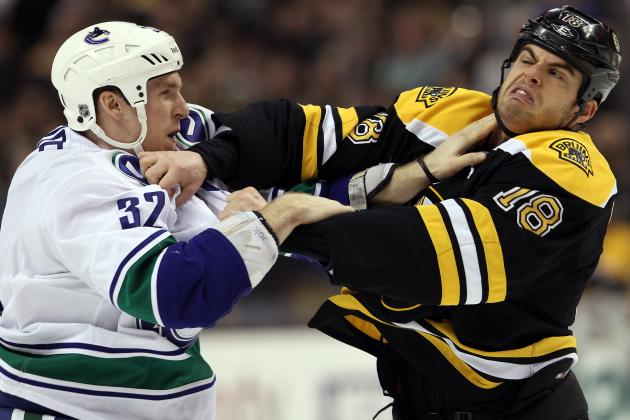 Vancouver Canucks vs. Boston Bruins and the 13 Nastiest Current NHL Rivalries
