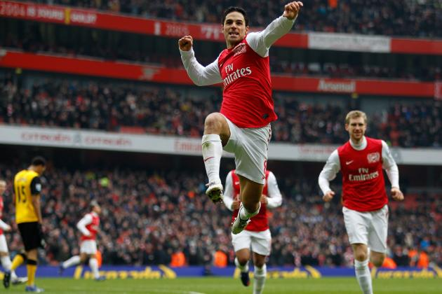 Arsenal vs. Blackburn Rovers: Ranking the Gunners' Players in 7-1 Victory