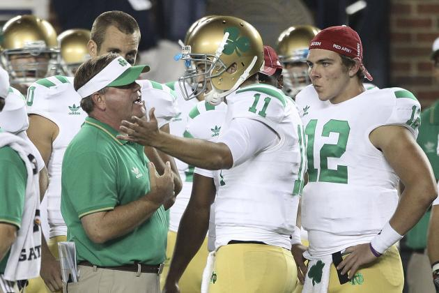 Notre Dame Football: One Word for Each Irish Quarterback Candidate