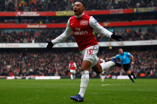 Premier League Winners and Losers: Arsenal, the Ox, Papiss Cisse and More