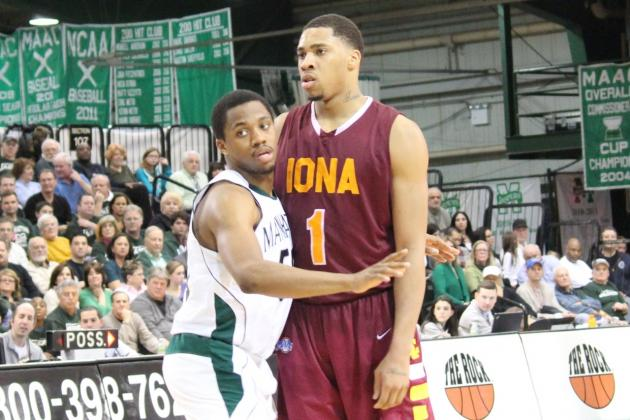 Manhattan Game Photos and Quotes, Gaels at Loyola Friday Night for MAAC Lead