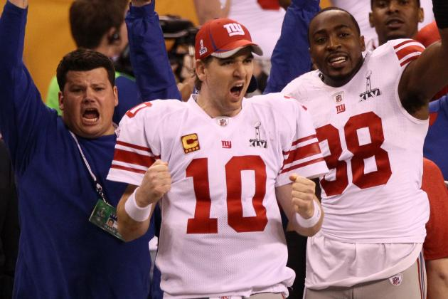 Eli Manning: 7 Best Moments from Giants QB's 2011-12 Season