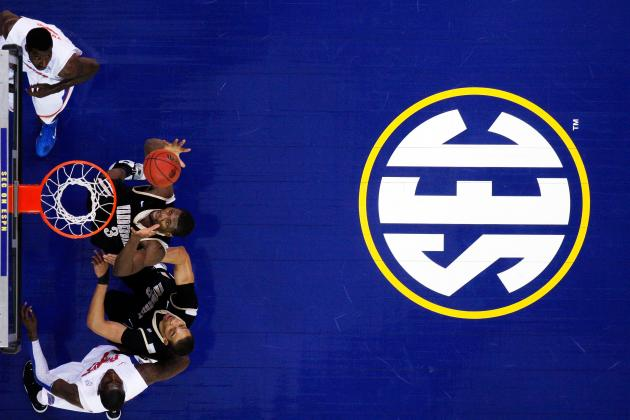 SEC Basketball: How the Top 5 Teams in the SEC Rank