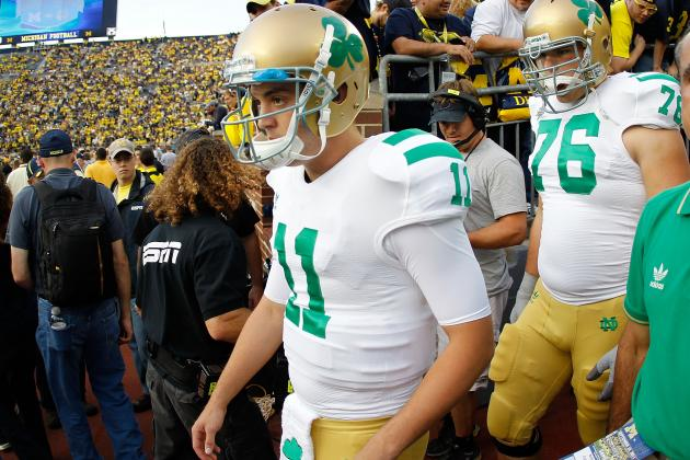 Notre Dame Football: Projecting the 2012 Depth Chart After National Signing Day