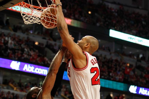 Taj Gibson: Ranking Chicago Bulls Forward's Top 5 Dunks