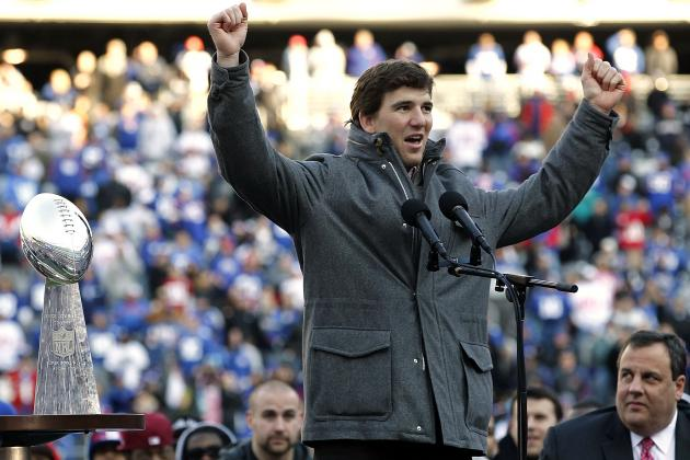 Giants Parade 2012: Highlights from New York's Emotional Celebration