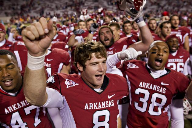 Arkansas Football: Power Ranking the Program's Top 7 Returning Players for 2012