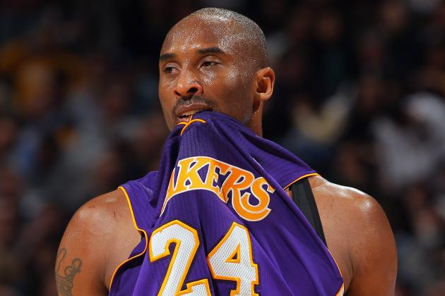 NBA: Kobe Bryant's Top 5 Scoring Games of His Career