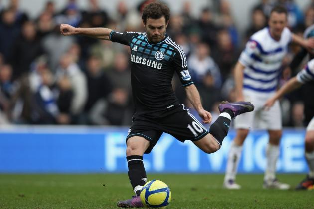 Everton vs. Chelsea: Juan Mata and 5 Most Important Players for Blues