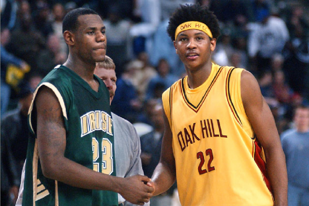 NBA All-Star Game 2012:  What the All-Star Starters Looked Like in High School