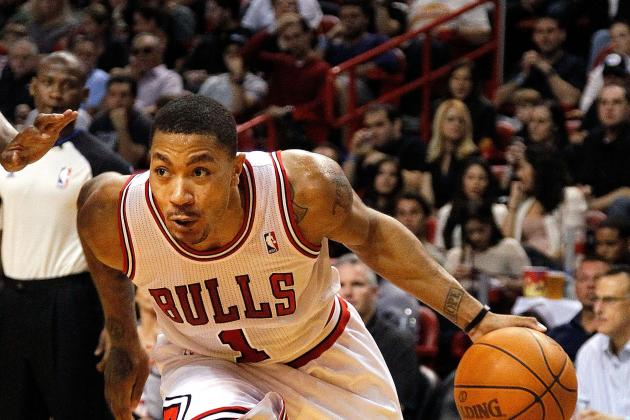 Derrick Rose's 5 Most Insane Highlights of the NBA Season