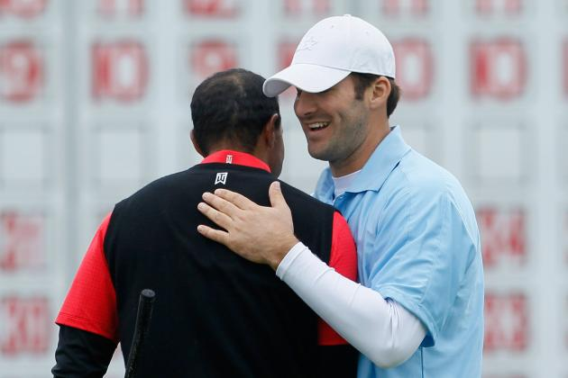Tony Romo: 4 Ways Tiger Woods Pairing Benefits Dallas Cowboys Quarterback