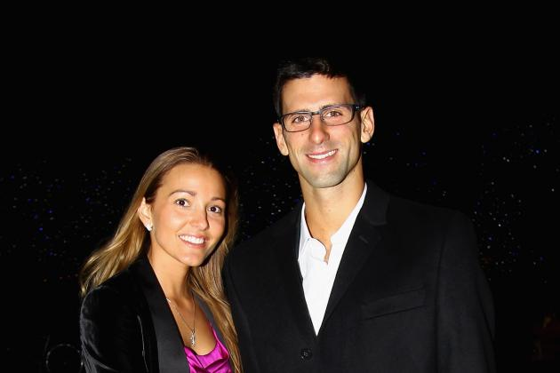 Novak Djokovic's Girlfriend and the Top 15 WAGs in Tennis