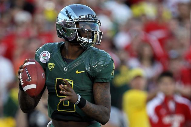 NFL Draft 2012: 3 Franchises That Best Suit Oregon QB Darron Thomas