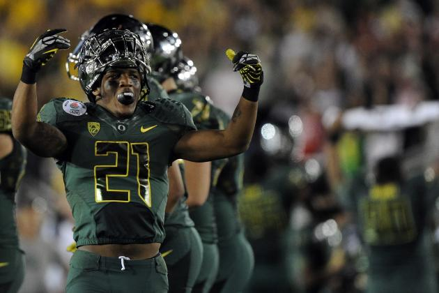 2012 NFL Draft: 5 Potential Landing Spots for Oregon RB LaMichael James