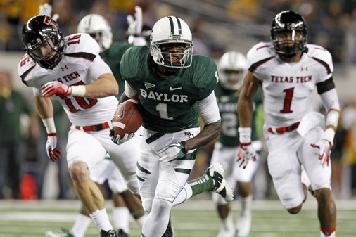 NFL Draft 2012: 5 Signs Baylor Bears' WR Kendall Wright Will Be a Stud