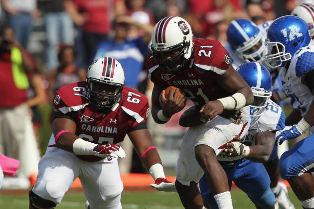 South Carolina Football: Predicting and Grading the Offensive Starters for 2012