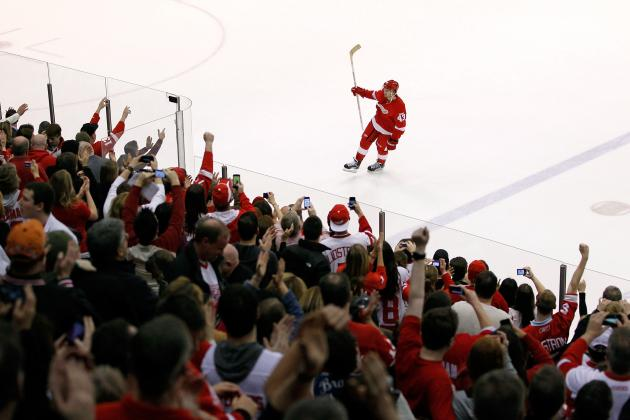 Detroit Red Wings: Five Best Players During the Record Home Winning Streak