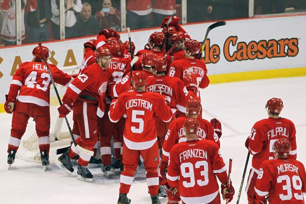 Detroit Red Wings: Memorable Moments from Their 21-Game Home Winning Streak