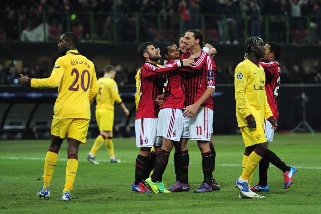 AC Milan vs. Arsenal: 8 Things Arsenal Got Wrong in 4-0 Loss