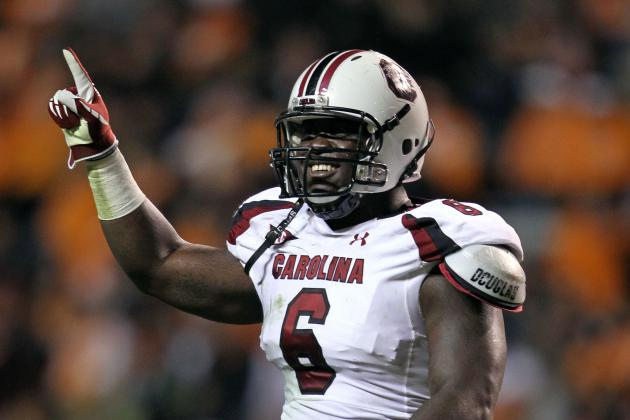 NFL Draft 2012: Ranking the Top 10 Defensive Ends in This Year's Class