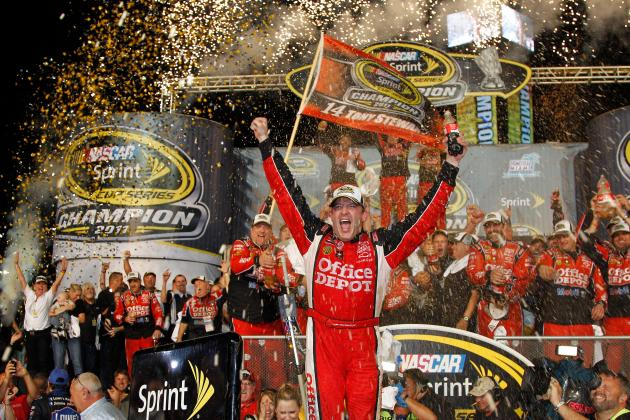 Predicting the Top 20 in NASCAR Points in 2012