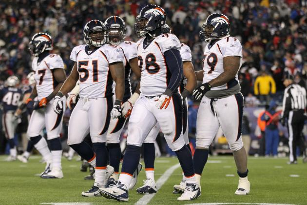 Denver Broncos: Which Players on 45-Man Roster Won't Be Back Next Season