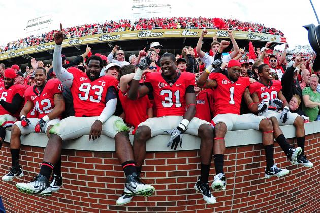 Georgia Bulldogs: 5 Reasons Why Georgia Will Cruise Through 2012