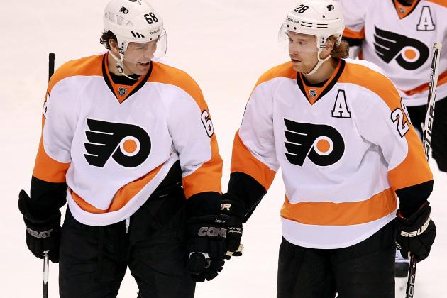 Philadelphia Flyers: 5 Signs of Jaromir Jagr's Man-Crush on Claude Giroux