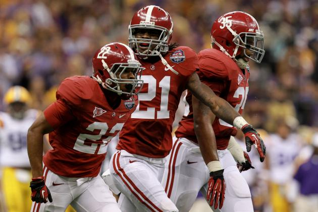 Alabama Football: Preview of the 2012 Receiving Corps
