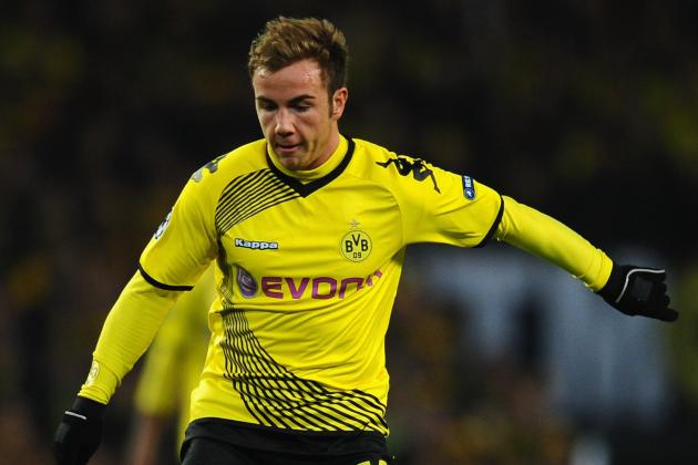 Mario Gotze: 6 Most Likely Summer Transfer Destinations for Dortmund Star