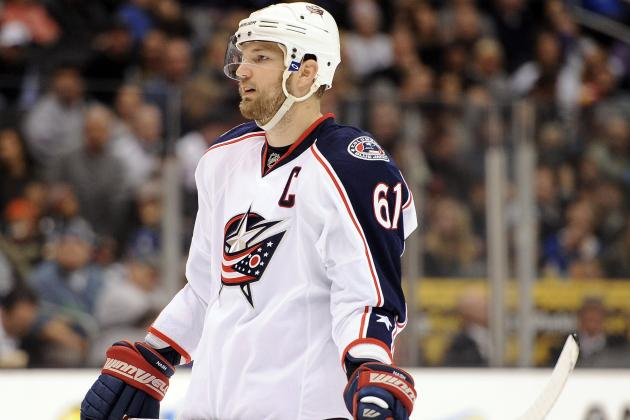 Rick Nash Trade Rumors: Exploring the Possibilities of Nash Becoming a Shark