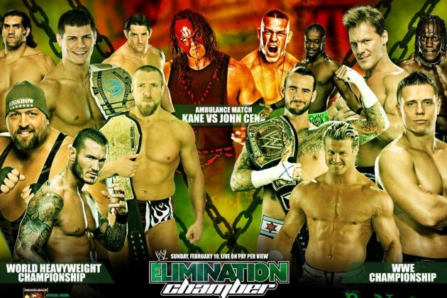 WWE Elimination Chamber 2012: Predictions from Bleacher Report's Evolution