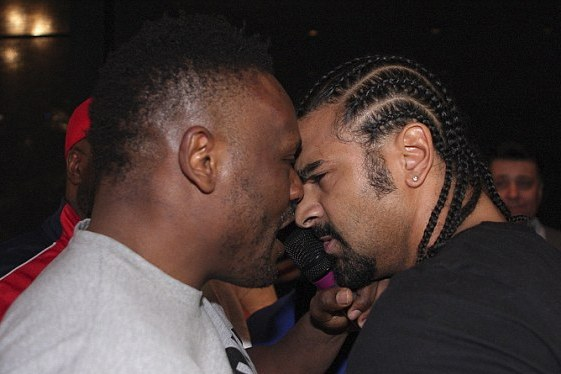 David Haye Dereck Chisora Brawl and Wildest Post-Fight Scenes in Boxing History