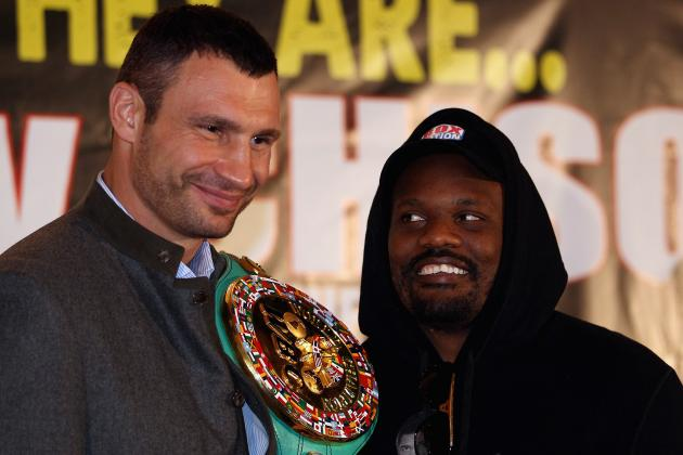 Vitali Klitschko vs. Dereck Chisora: 5 Next Possible Opponents for Klitschko