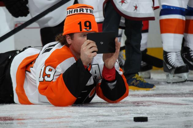 Scott Hartnell and the 30 Best NHL Player Twitter Accounts