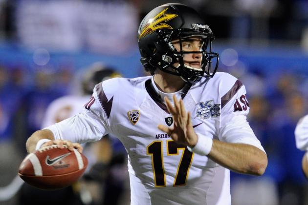 2012 NFL Draft: 4 Reasons Sun Devils' Brock Osweiler Is a Top-5 Quarterback