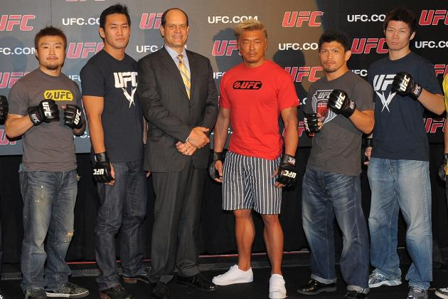 UFC 144 Akiyama, Okami, Gomi: How Will the Japanese Fighters Do?