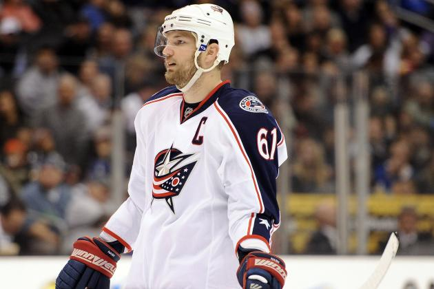 NHL Trade Rumours: Rick Nash and 11 Others the San Jose Sharks Should Target