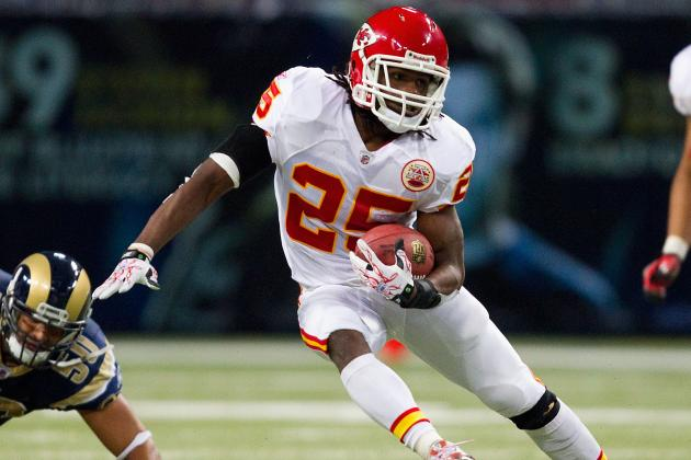Kansas City Chiefs: 8 Running Backs Who May Play with Jamaal Charles in 2012