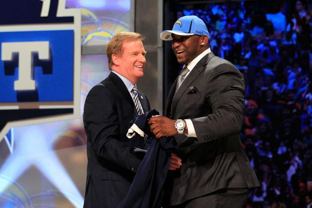 NFL Draft:  5 Players the Chargers Need for 2012
