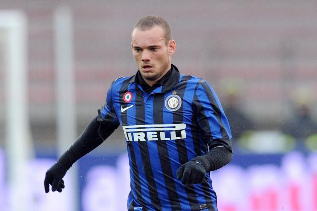 Manchester United Transfers Rumours: One Starting XI to Include Wesley Sneijder