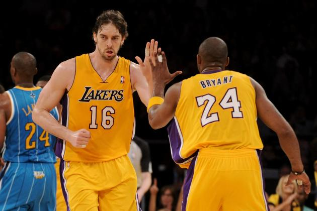 Los Angeles Lakers: Grading Every Starter at the All-Star Break